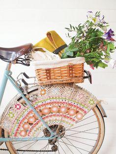 DIY Crochet Wheel Guard