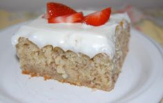 Banana Bars with Cream Cheese Icing - @Carla Lira I think you should make these :D