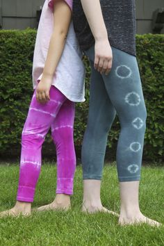 Family Chic Tulip Tie Dye Yoga Leggings