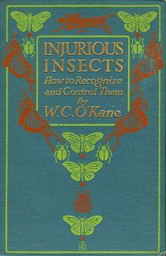 ≈ Beautiful Antique Books ≈ Injurious Insects   Bertha Stuart   1912