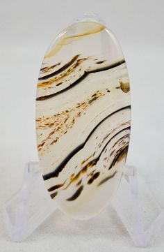 Montana Agate Cabochon cab1343 by SSJewelryDesigns on Etsy