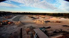 A beautiful shot of the Crusader Stadium construction.  You can watch the feed live from umhb.edu/masterplan.