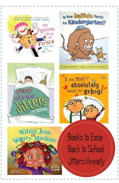 8 Books to Ease Your Child's Back to School Fears - some work for any situation not just back to school