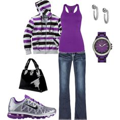 purple, comfy, and cute. Just the way I like it!