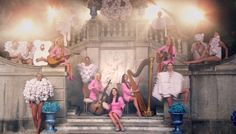Real Housewives of Beverly Hills in Lady Gaga's G.U.Y. music video