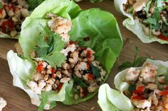 Thai Chicken Larb - From Away