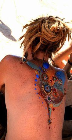 nice colorful tattoo