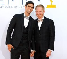 Jesse Tyler Ferguson and his fiance Justin Mikita are adorable!