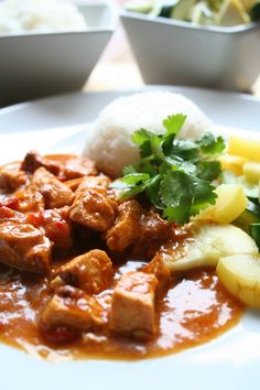 Slow Cooker Chicken Curry - The Magical Slow Cooker