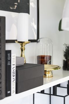Brass, living room