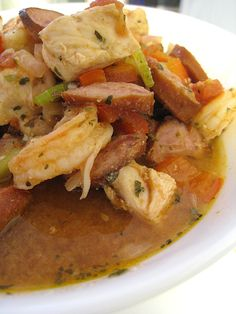 Crock Pot Jambalaya