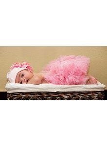 Newborn Pettiskirt - Baby Pink