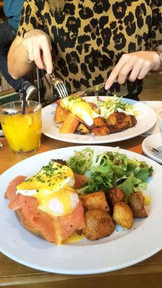 The brunch at Firebug in Barcelona is my absolute favourite for eggs Benedict! More favourite hotspots on foundafavourite.com