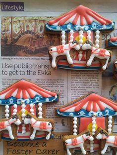 merry-go-round cookies