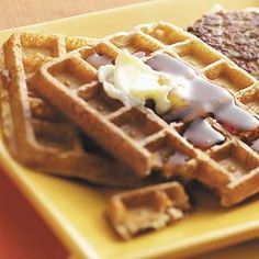 Apple Spice Waffles Recipe from Taste of Home