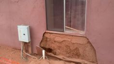 In the unlikely event you have to replace straw from the walls of a straw bale house...