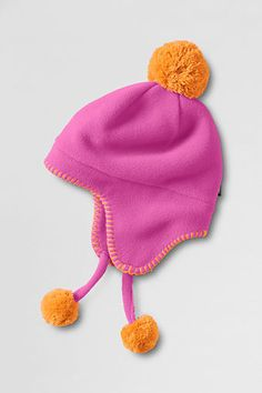 Girls' Polartec® Aircore 200 Hat from Lands' End