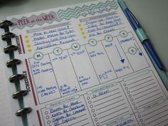 Peek at the Week: A Weekly Planner for Teachers