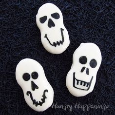 Nutter Butter Skulls ~ quick and easy!