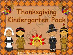 Thanksgiving Kindergarten Pack ! Enter for your chance to win 1 of 2.  Thanksgiving Kindergarten Pack ~ Printables + Game Cards Pre-K/K (46 pages) from The Teaching Treehouse on TeachersNotebook.com (Ends on on 10-25-2014)  This pack contains Thanksgiving themed alphabet practice, rhyming, syllables, patterns, numbers 1-20, counting, adding, subtracting, shape sorting, and more! Also included are upper and lowercase ABC and number/counting game cards. 28 ready to use printables plus game ...