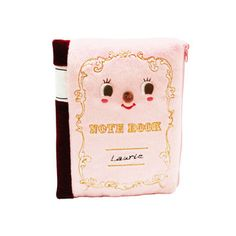 Notebook Pencil Case in Pink.