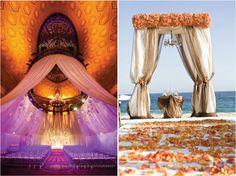 wedding ceremonies, idea, ceremony decorations, beach weddings, wedding blog