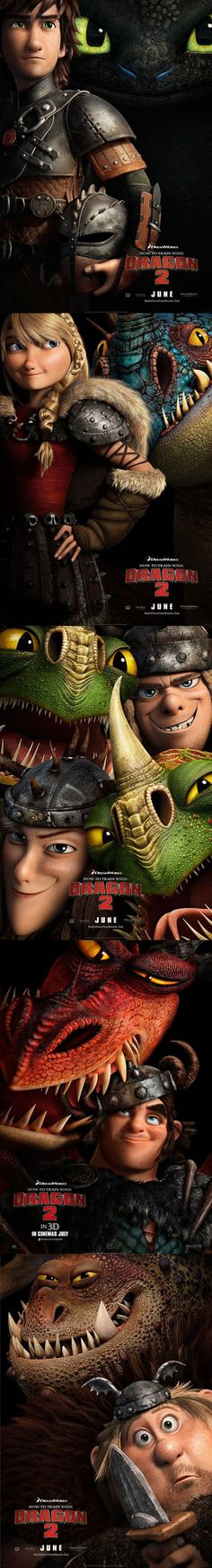 - How to Train Your Dragon 2