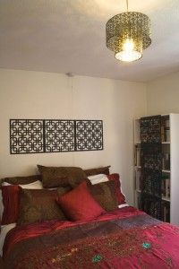 Ideas for creating an Indian bedroom