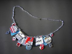 Aluminum Can Recycled jewelry   http://www.flickr.com/photos/urbanwoodswalker/3683783129/