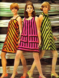 1960's Fashion. ♥