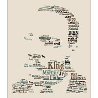 "TAGXEDO: interesting site that appears to be in the building stage. Like a ""Wordle"" but takes the words you gather and puts them into a specific shape like an animal, famous person, yourself? mlk, classroom, idea, teacher stuff, english teacher, martin luther, educ, art projects, word clouds"