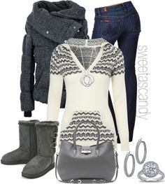Throw some PINK in there and it would be perfect.  Minus the uggs for me.