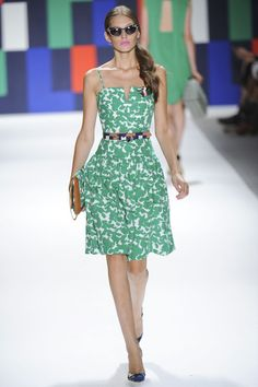 I wish I had a green dress