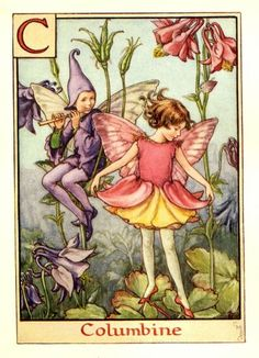 mari barker, cice mari, costum, children, alphabet, kew gardens, fairy art, flower fairies, cicely mary barker