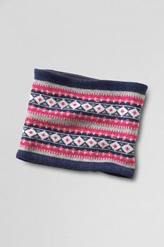 Women's Fair Isle Gaiter from Lands' End