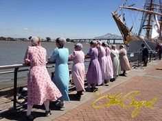 Mennonite women volunteers still here over 6 years after Katrina. Amazing. Props to Laura Bergerol for the photo.