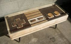 Fully Functioning Nintendo Controller Coffee Table
