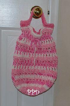 Round Bottom Cotton Shopping bag! | Free Crochet Patterns