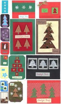 Kartki świąteczne mojego autorstwa :)