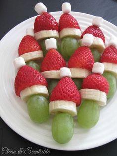 Fun and healthy Christmas food