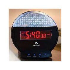 Additional Doorstop Buzzing with the Remote Visual Doorbell Clock #doorbells trendhunter.com