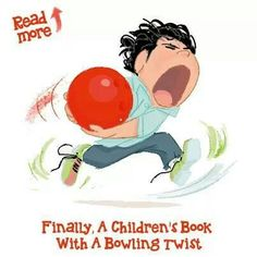 Mitchell goes bowling.  New children's book about bowling
