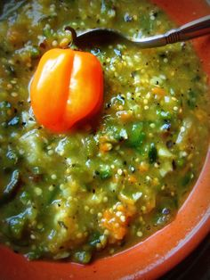 Blackened Tomatillo Poblano Salsa With Habanero - Hispanic Kitchen