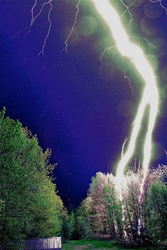 Lightning strike...They look amazing.Please check out my website thanks. www.photopix.co.nz