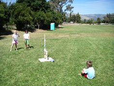 Compressed Air Rocket — DIY How-to from Make: Projects