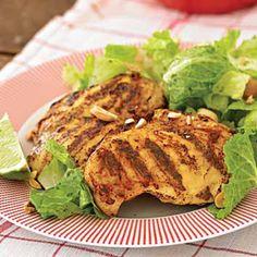Thai-inspired Chicken herbs, chicken thighs, yum, thaiinspir chicken, fresh herb
