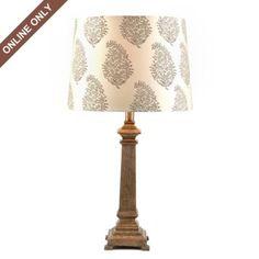 Resin Bellevue Table Lamp