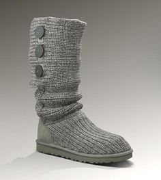 UGG Classic Cardy Boots 5819 Grey [5819] - $99.99 : Classic UGG Boots Sale Online Store
