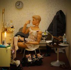 ken, makeup, the queen, lotion, basket, bad, drag queen, barbie, mariel clayton