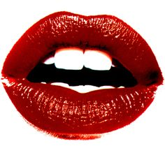 Red Lips Emoticon for Facebook